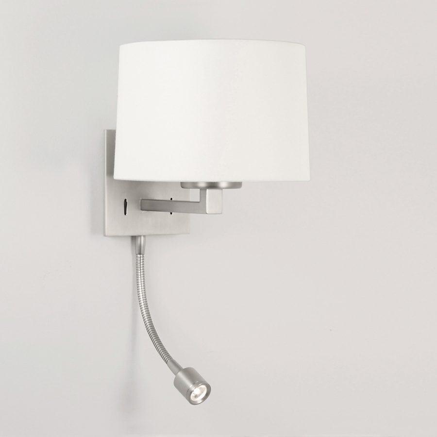 Azumi LED Classic Matt Nikkel u/Skjerm-0