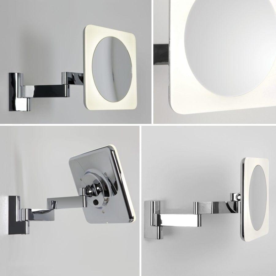 Niimi Square LED Sminkespeil-52968