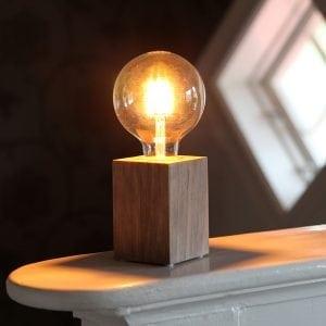 LYS lampefot i tre-54500