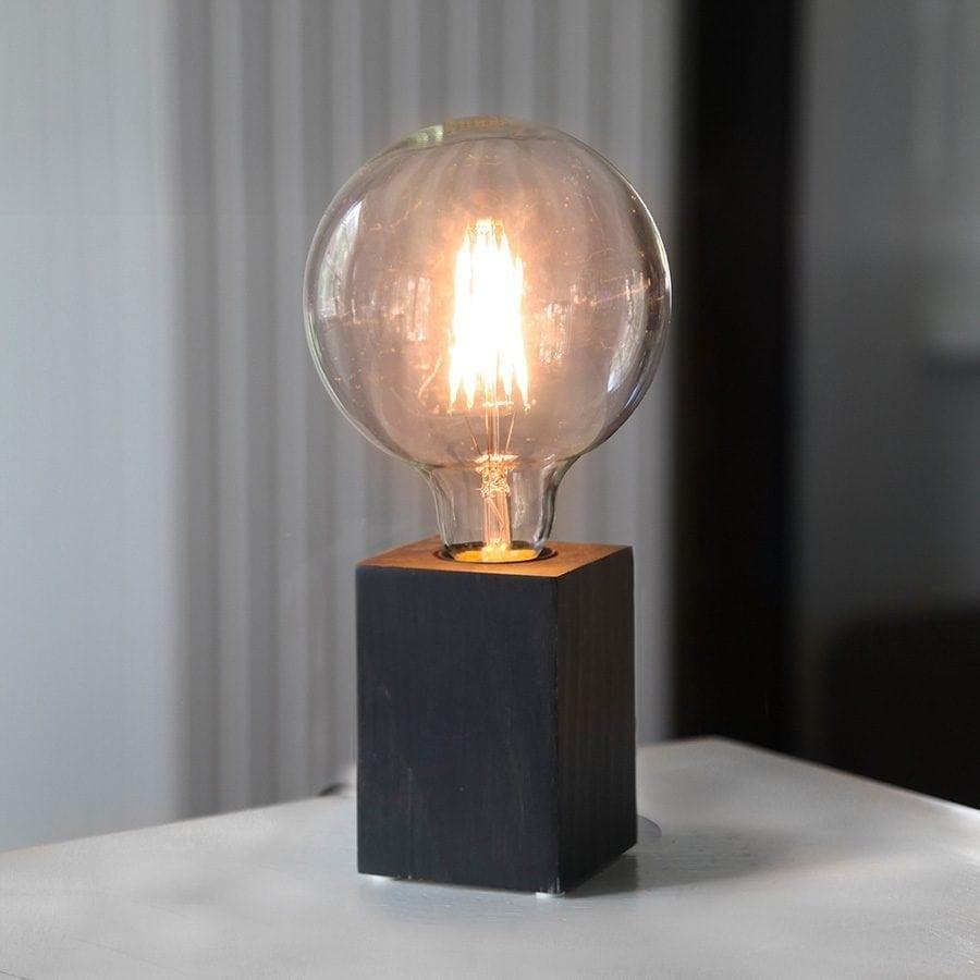 LYS lampefot i tre-63158