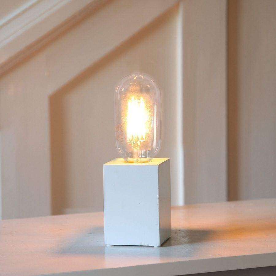 LYS lampefot i tre-63156