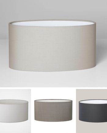 Oval Lampeskjerm-0