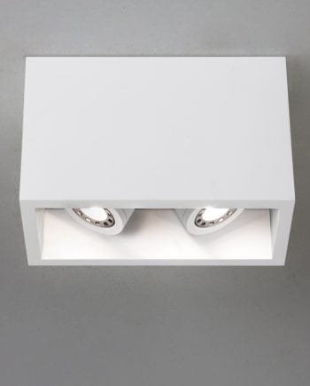 Osca 140 Twin Adjustable LED Taklampe-0