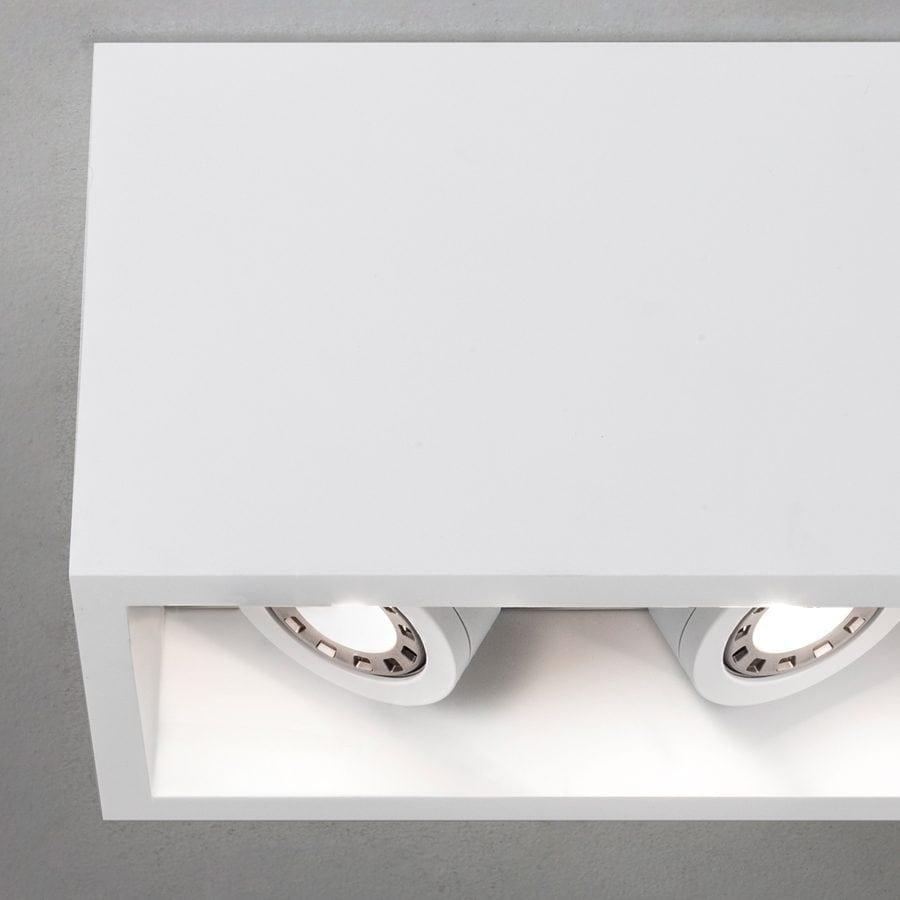 Osca 140 Twin Adjustable LED Taklampe-54452