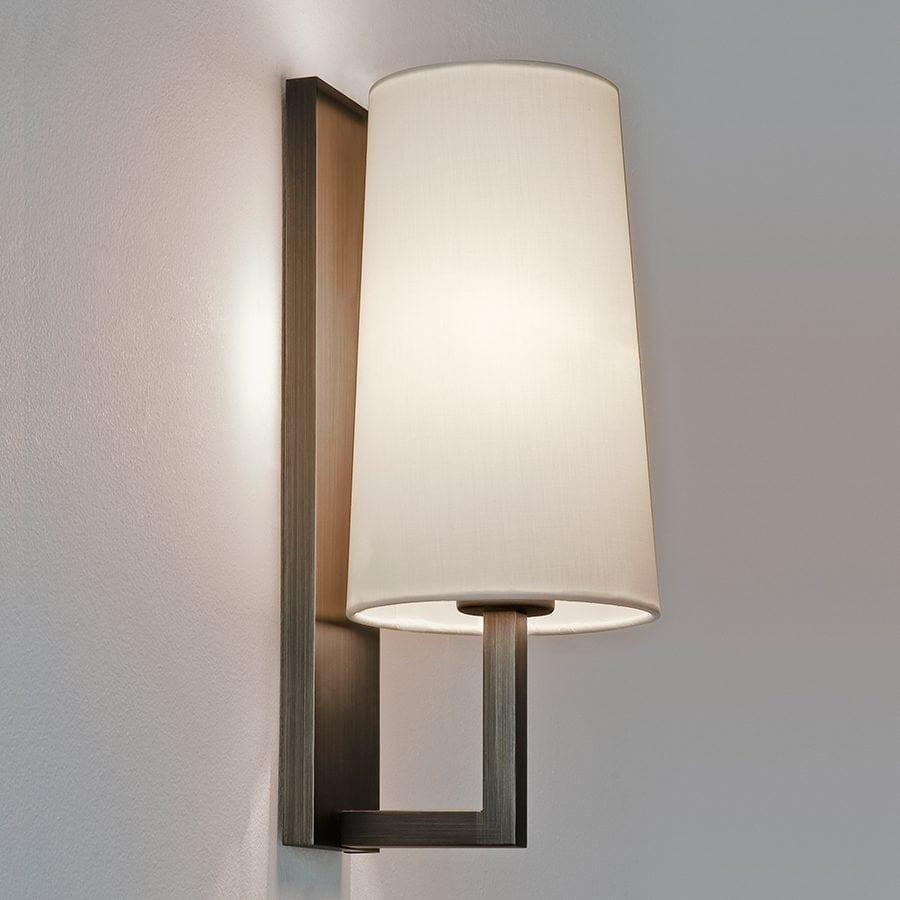 Riva 350 Vegglampe Bronse u/Skjerm-53137