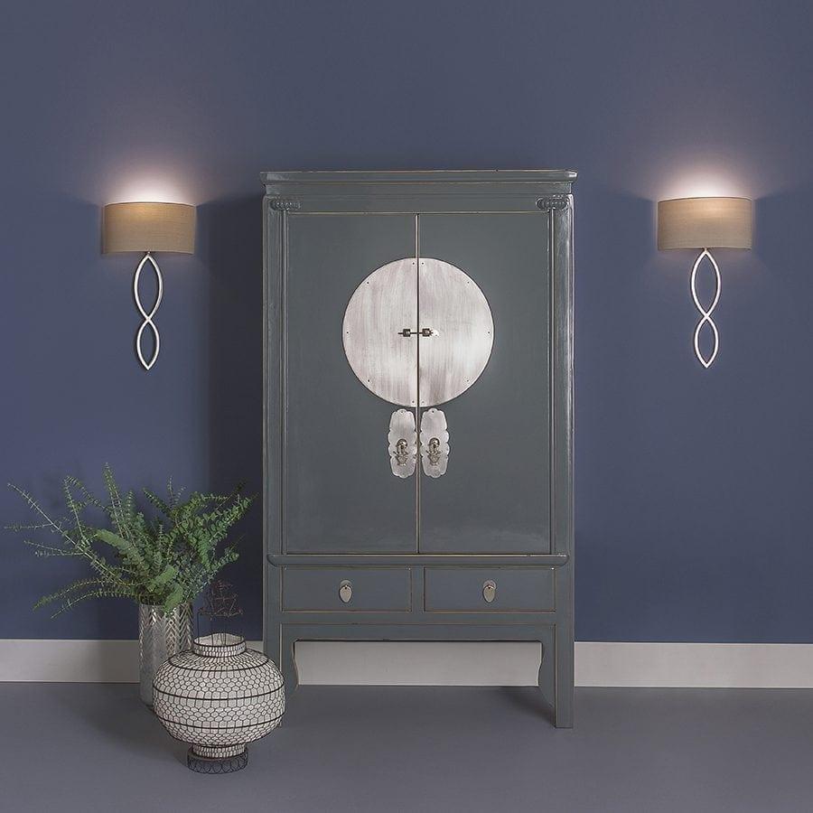 Caserta Vegglampe u/Skjerm-53352