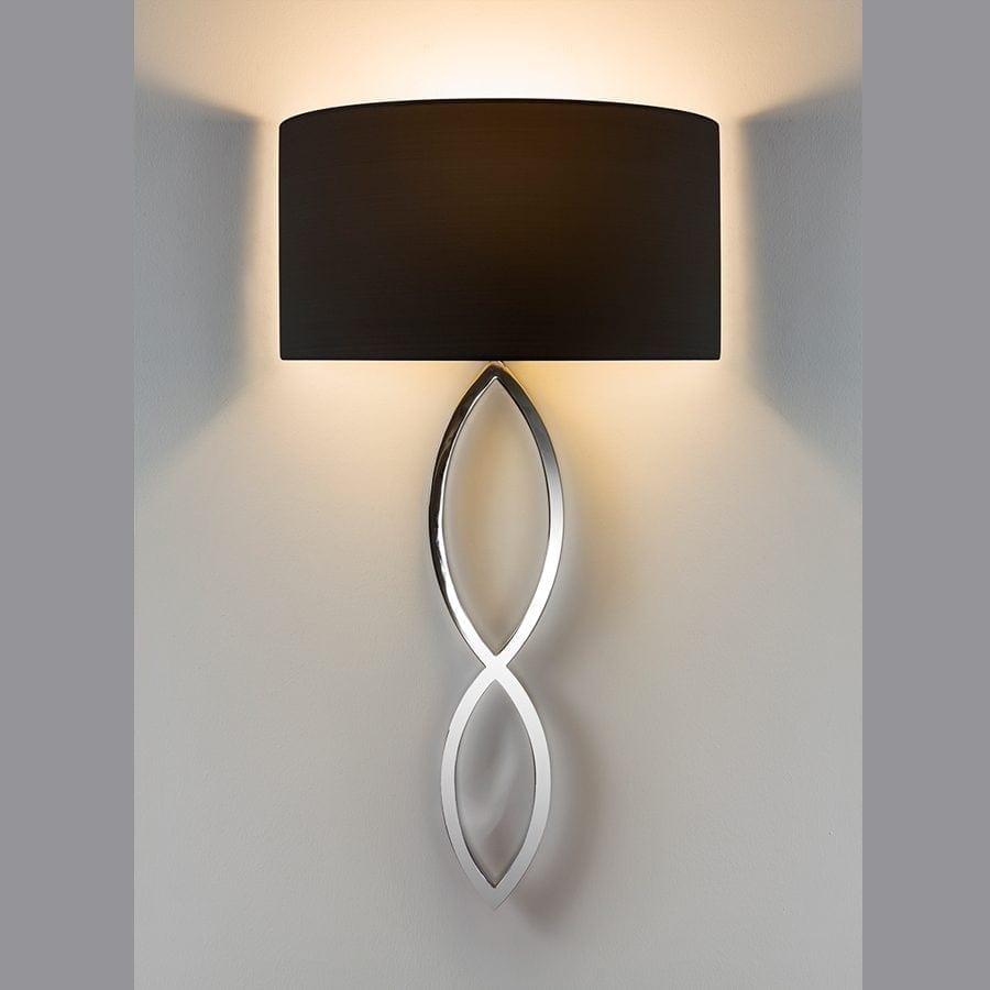 Caserta Vegglampe u/Skjerm-53355