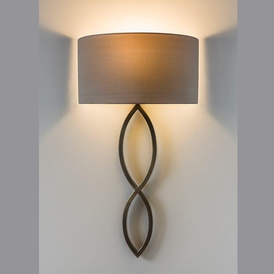 Caserta Vegglampe u/Skjerm-53351