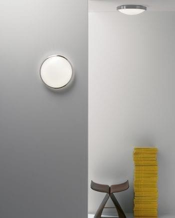 Osaka 350 LED Sensor Vegg-/Taklampe Børstet Stål-0