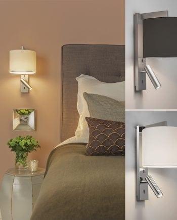 Ravello LED Vegglampe u/Skjerm-0