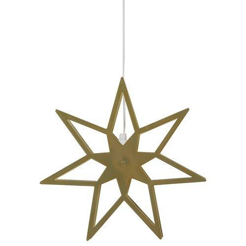 Tindra Stjerne 35 cm Messing-0