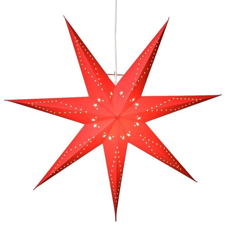 Katabo Papirstjerne 100 cm Rød-0