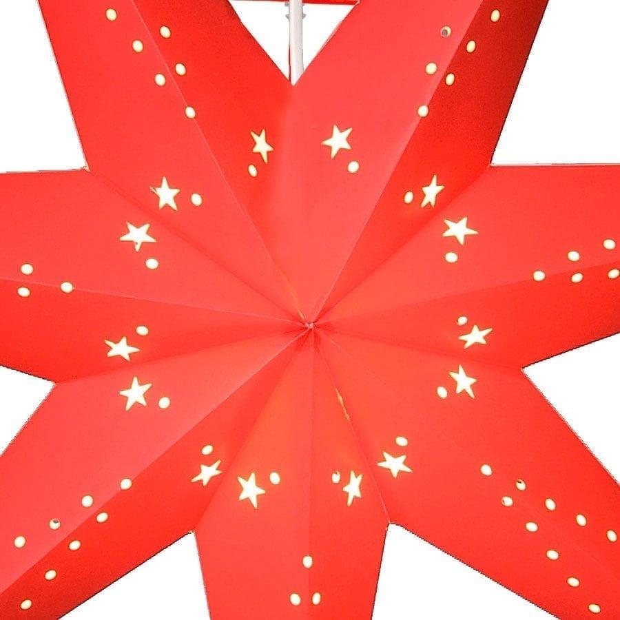 Katabo Papirstjerne 100 cm Rød-55245
