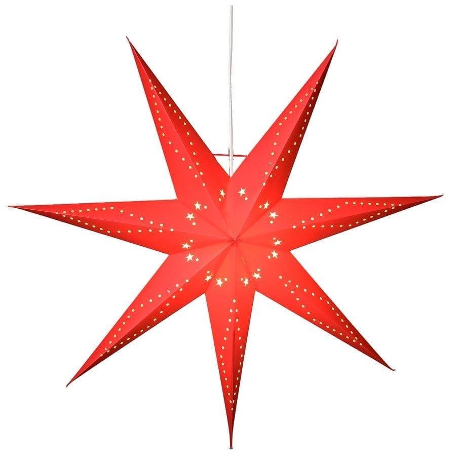 Katabo Papirstjerne 70 cm Rød-0