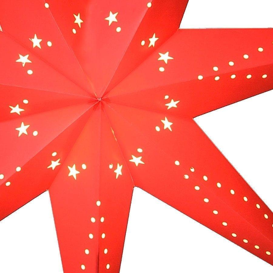 Katabo Papirstjerne 70 cm Rød-55239
