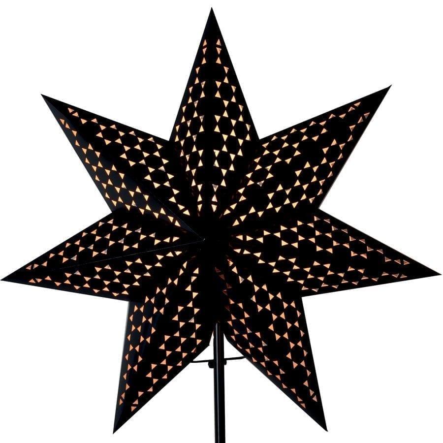 Shark II Papirstjerne på fot-55216