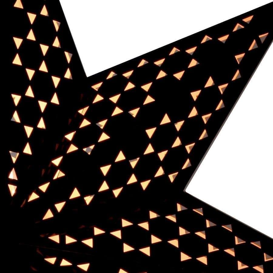 Shark II Papirstjerne på fot-55218