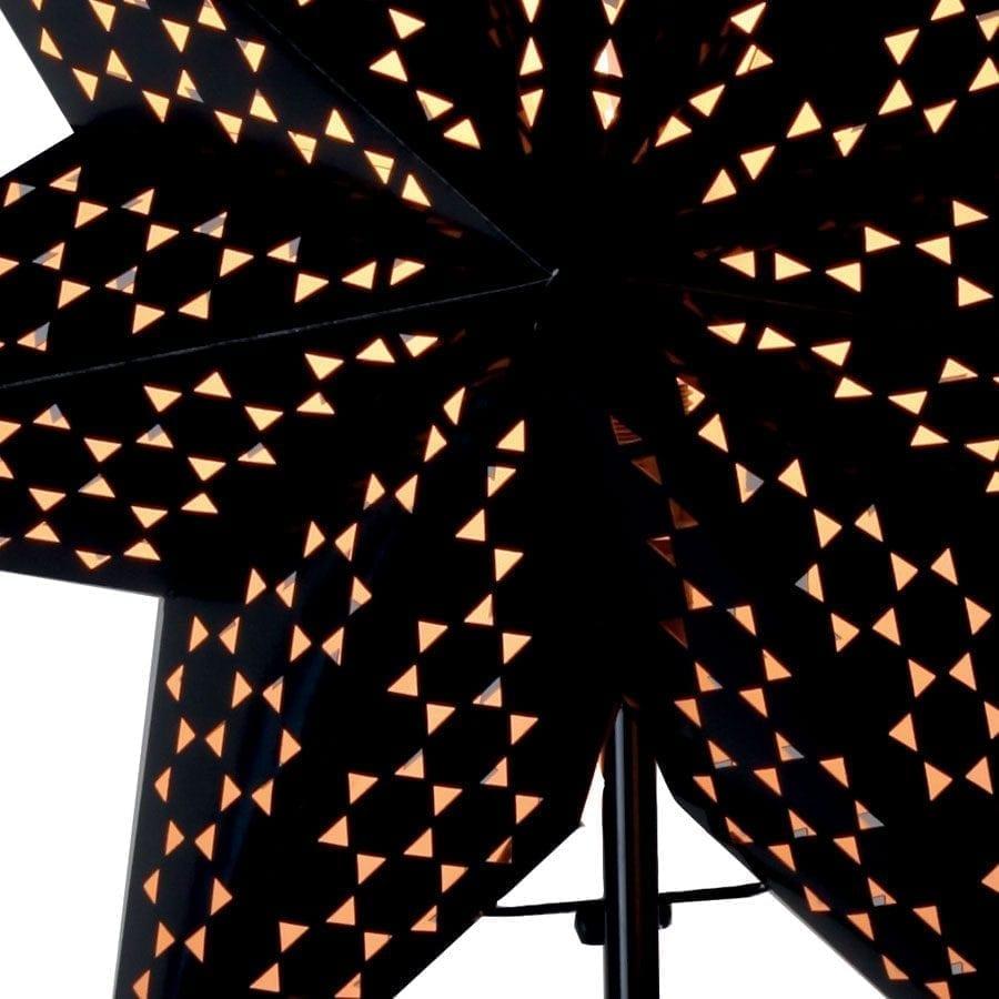 Shark II Papirstjerne på fot-55215