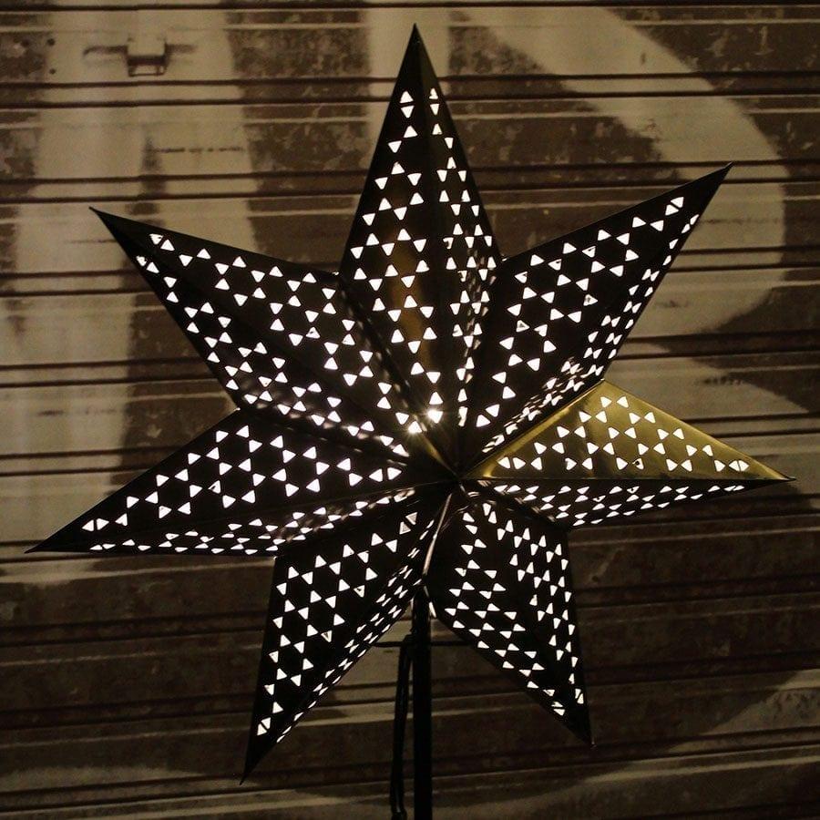 Shark II Papirstjerne på fot-56524