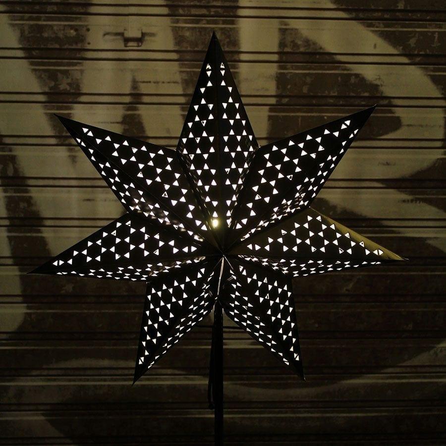 Shark II Papirstjerne på fot-56522