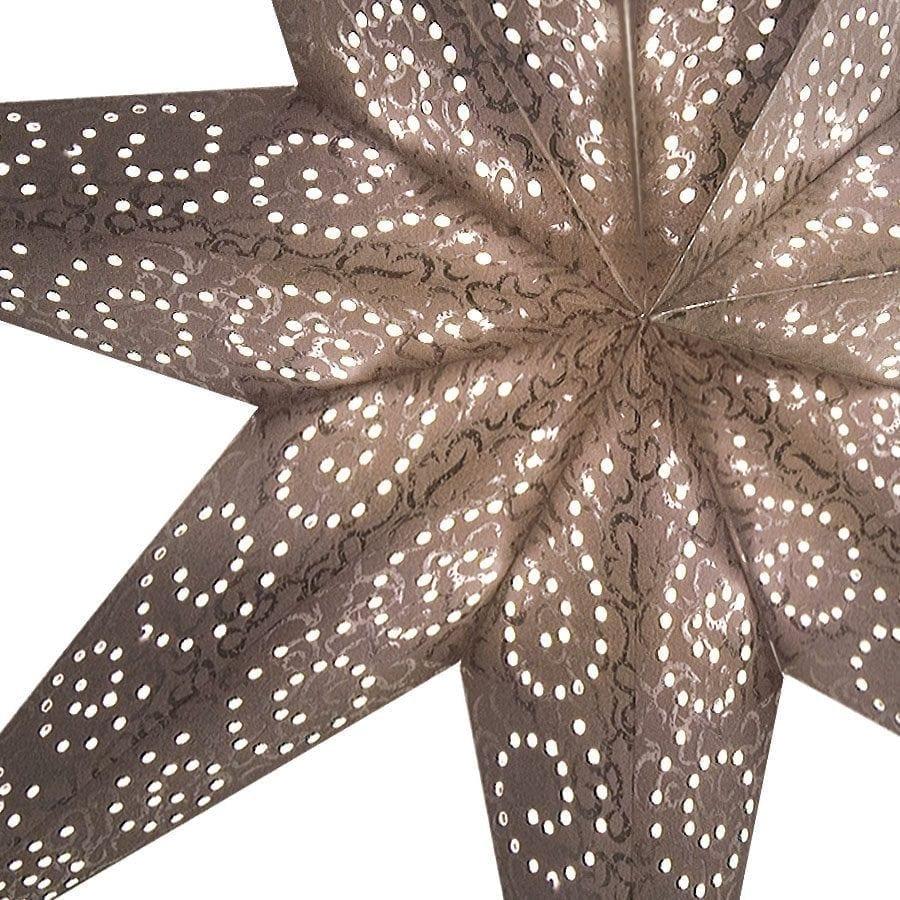 Antique Papirstjerne Sølv 60 cm-55267