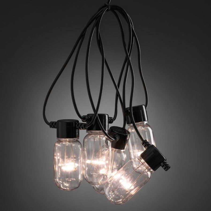 LED Party Lysslynge Oval 10 Lys-56065