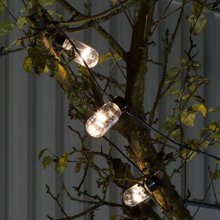 LED Party Lysslynge Oval 10 Lys-0