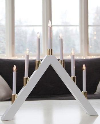 Halla LED Adventsstake 7 Lys Hvit-0