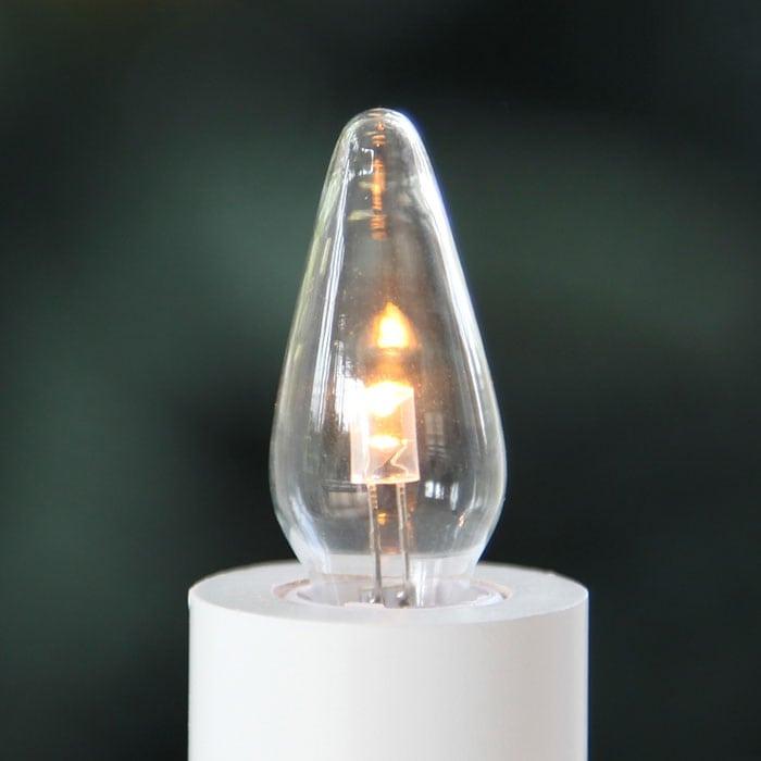 0,2W E10 LED 10-55V Klar Universal Reservepære 3pk-55134