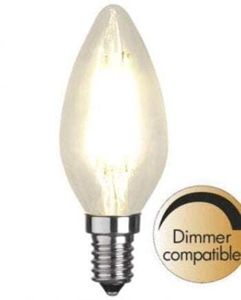 3,2W (=35W) E14 LED Filament Mignon Pære Dimbar-0