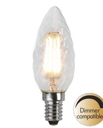 3,2W (=35W) E14 LED Filament Vridd Mignon Pære Dimbar-0