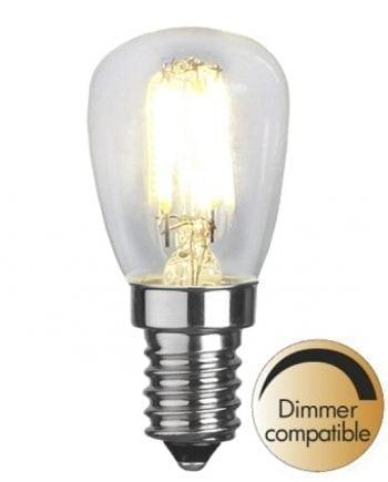 2,5W (=22W) E14 LED Filament Ozon Pære Dimbar-0