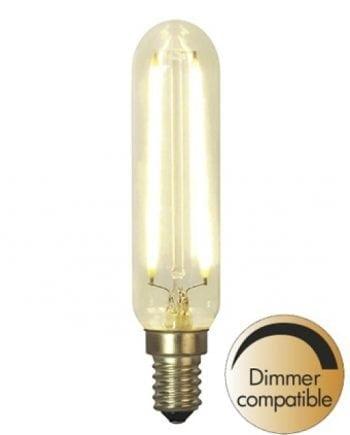 1,5W E14 LED Soft Glow Rørform Pære Dimbar 25x115mm-0