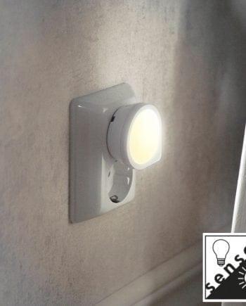 LED Nattlampe m/Sensor-0
