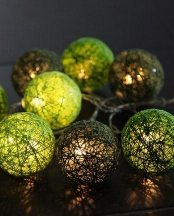 Jolly LED Lysslynge Grønn 10 Lys-0