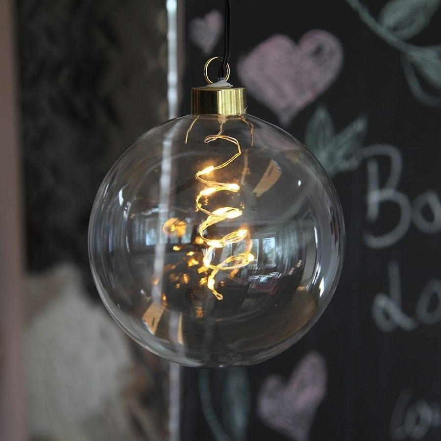 Glow LED Glasskuler-54969