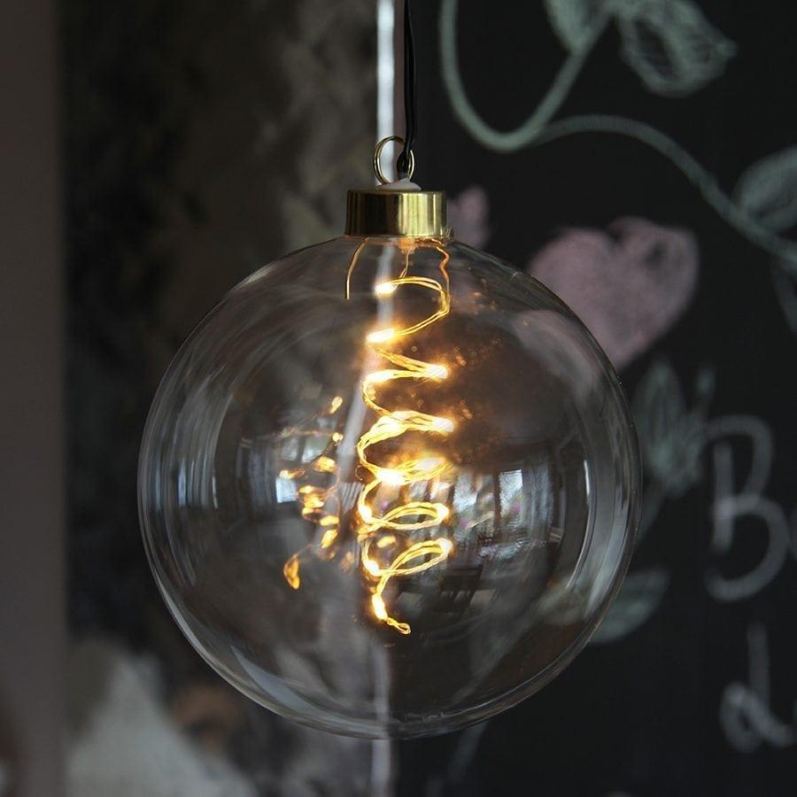 Glow LED Glasskuler-0