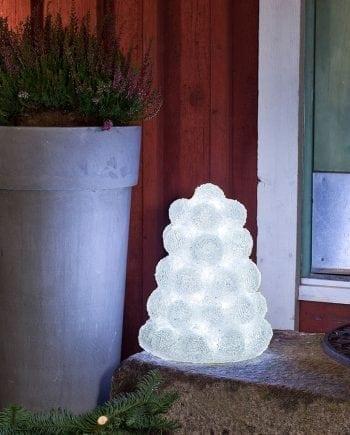 LED Snølykt 40 Lys-0