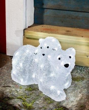 LED Isbjørnfamilie 48 Lys-0