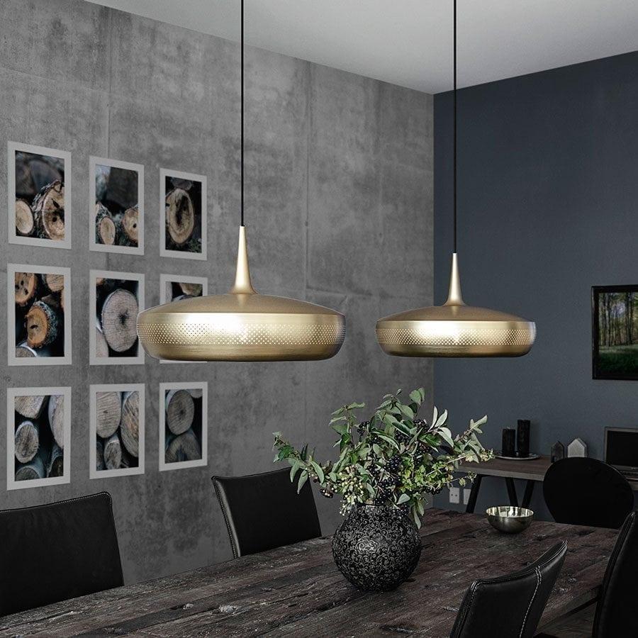 VITA Clava Dine Lampeskjerm Messing-0
