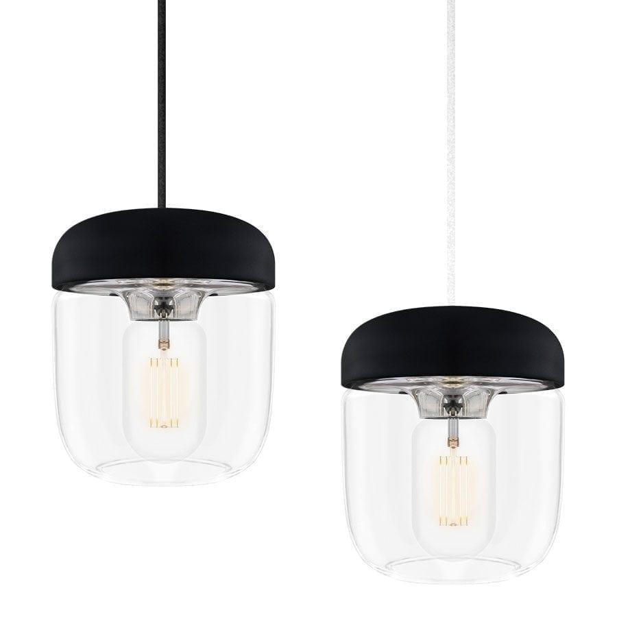 VITA Acorn Lampeskjerm Sort/Stål-57386
