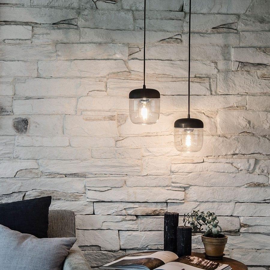 VITA Acorn Lampeskjerm Sort/Stål-0