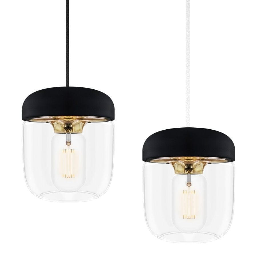 VITA Acorn Lampeskjerm Sort/Messing-57406