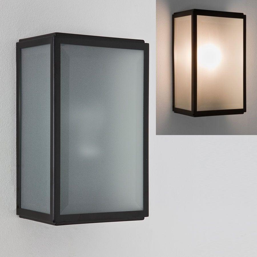 Homefield Frostet Vegglampe-57131
