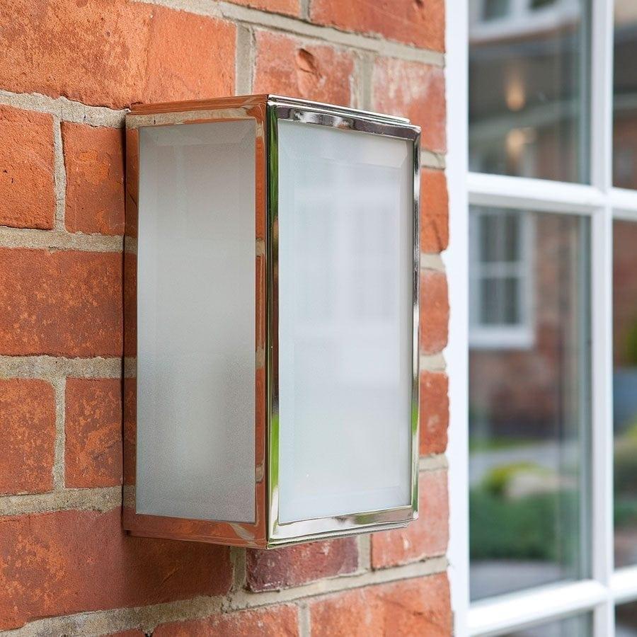 Homefield Frostet Vegglampe-57130