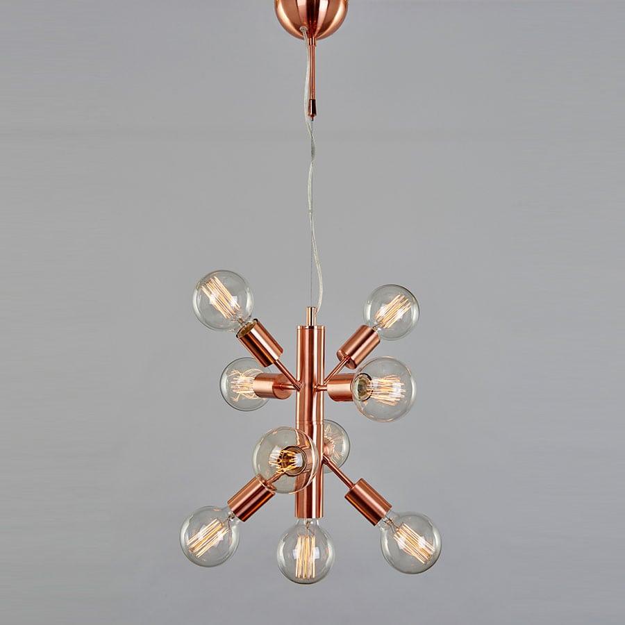 Svært MS Angelica Taklampe Kobber - Designbelysning.no IL-48