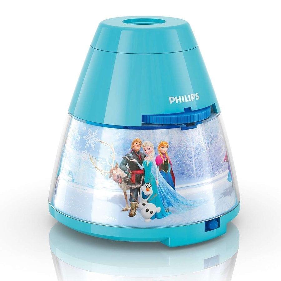 Philips Disney 2-i-1 LED Projektor og Nattlys Frost-58242