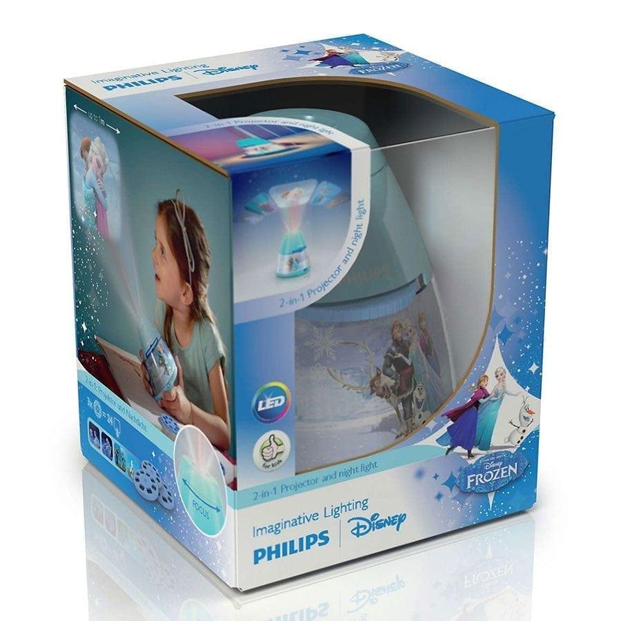 Philips Disney 2-i-1 LED Projektor og Nattlys Frost-58241