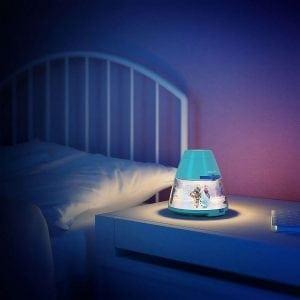 Philips Disney 2-i-1 LED Projektor og Nattlys Frost-58246