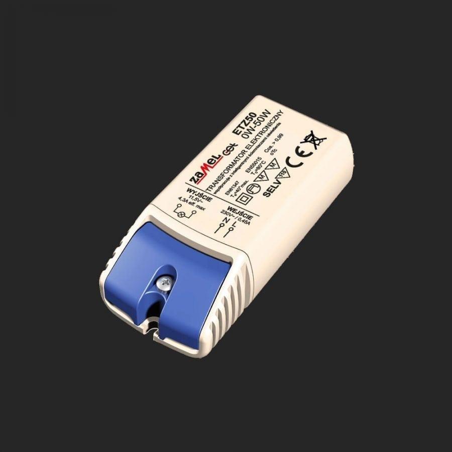 0-50W 12V Elektronisk LED/Halogen Trafo-0